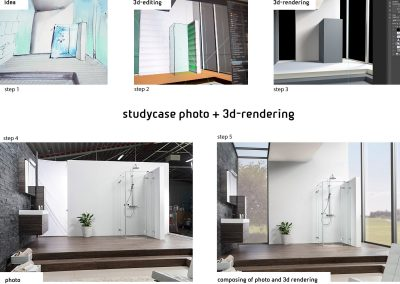 study case photo und cgi